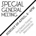 Sydney Femme Guild  Special General Meeting