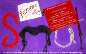 Femme Smut - 24 February 2015 Gasoline Pony, Marrickville